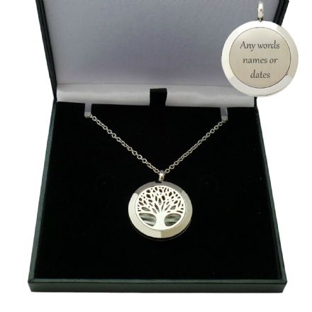 Tree of Life Locket with Engraving